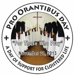 pro orantibus day