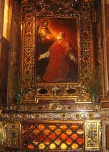 Tomb of St.Philip Neri - Chiesa Nuova, Rome