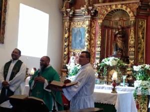 San Jose de Orosi anniversary Mass
